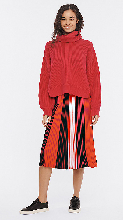 DVF Baylor Sweater Beet