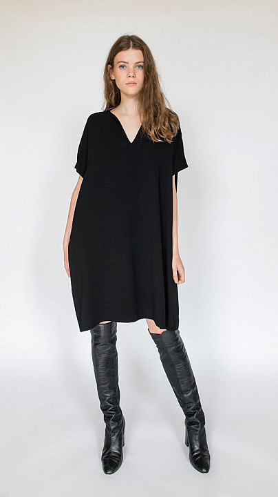 DVF Kora Dress Black