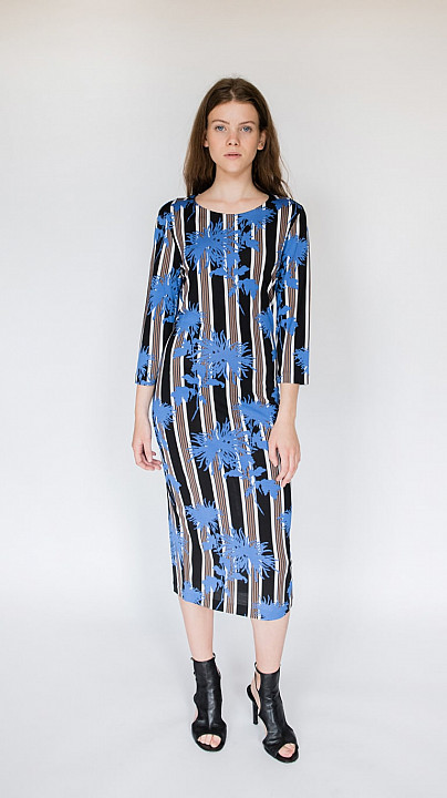 DVF Sihana Dress Shelford Black