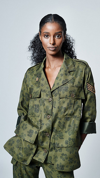 Smythe Bellows Pocket Army Jacket