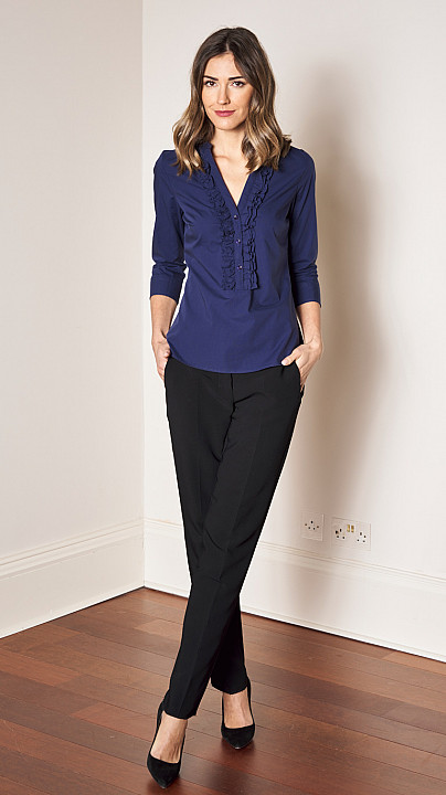 Alex Black Eliza Shirt Navy