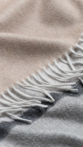 Begg & Co Miret Scarf Silver