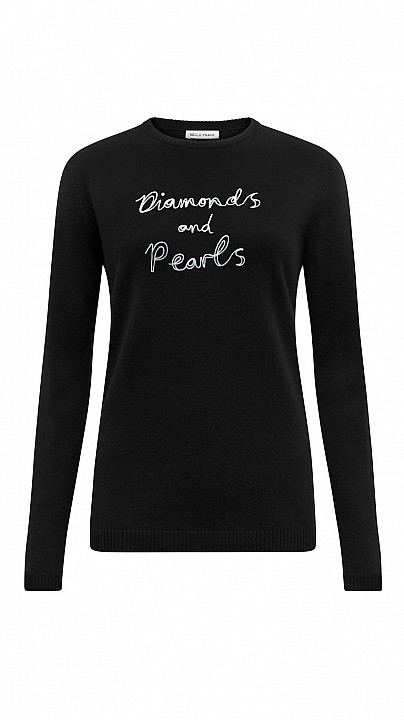 Bella Freud Diamonds and Pearls Jumper