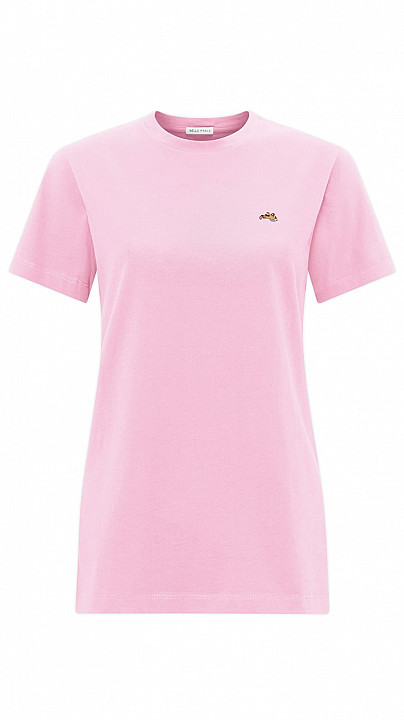 Bella Freud Dog T-Shirt Pink