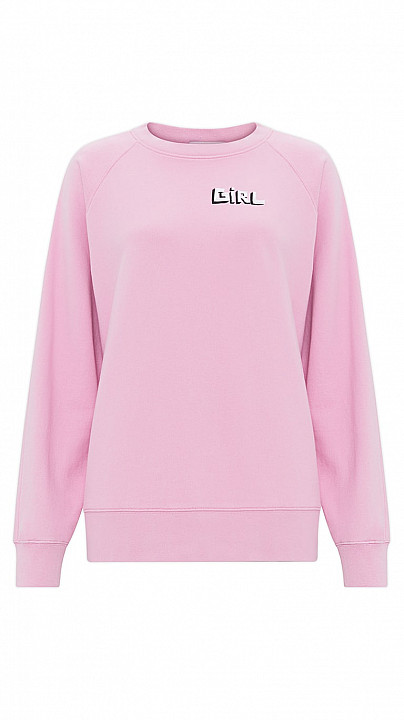 Bella Freud Girl Sweatshirt Pink