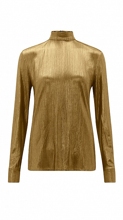 Bella Freud Sparkle Kempner Top Gold