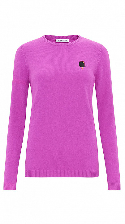 Bella Freud The Lolly Cashmere Pink
