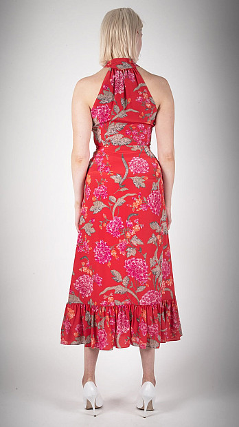 Beulah Cynthia Dallia Floral Dress