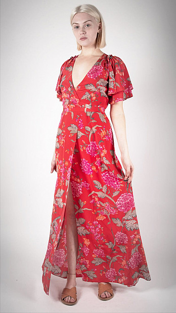Beulah Florine Dallia Wrap Dress