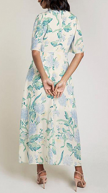 Beulah Gardenia Floral Dress