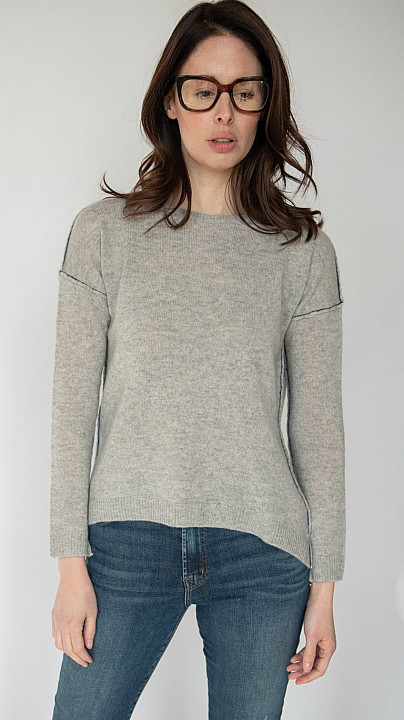 Charli Amber Grey Sweater