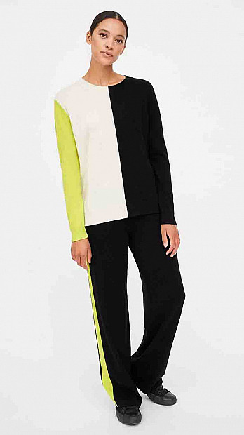 Chinti and Parker Asymmetric Sweater