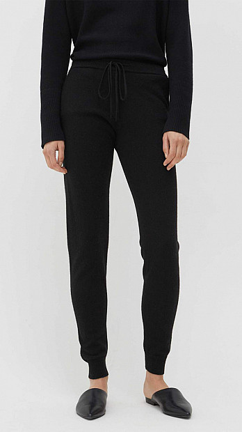 Chinti and Parker Track Pants Black