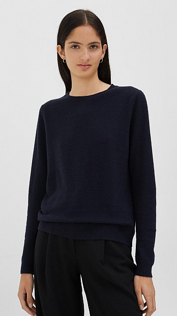 Chinti and Parker Crew Neck Sweater Navy