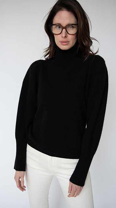 DVF Beatrice Knit Black