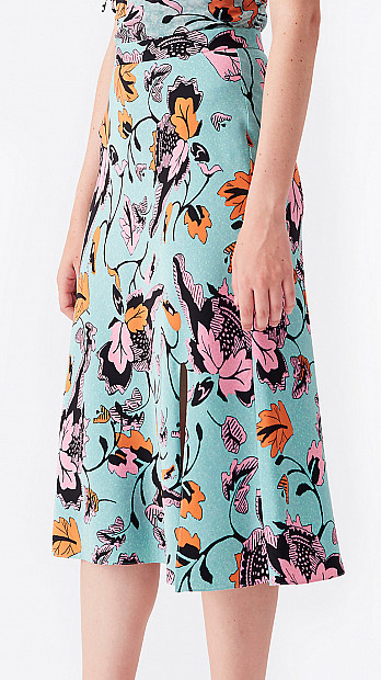 DVF Beverly Cady Skirt