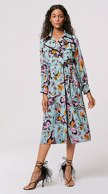 DVF Eda Trench Coat