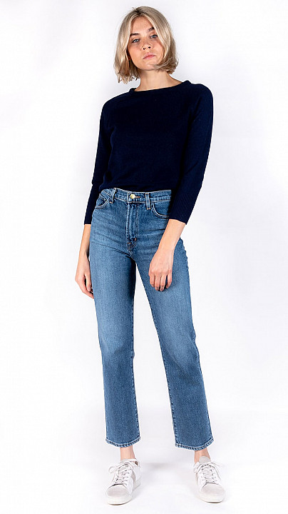 DVF Nia Sweater Navy
