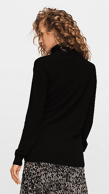DVF Pomona Cashmere Sweater Black