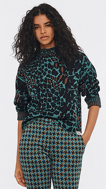 DVF Rosabell Reversible Sweater