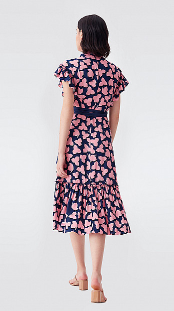 DVF Ruth Crepe Dress