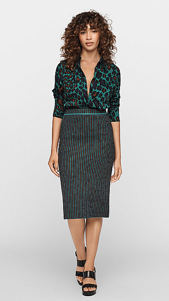 DVF Sian Reversible Skirt