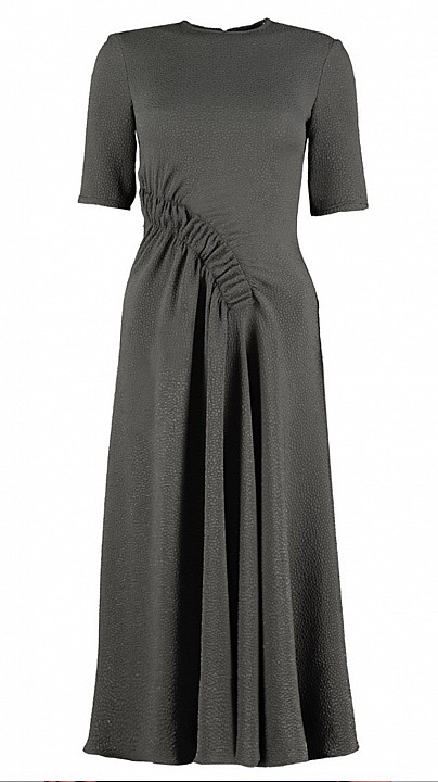 Edeline Lee Pina Dress Slate Grey