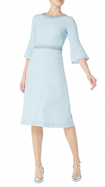 Goat Islay Dress Pacific