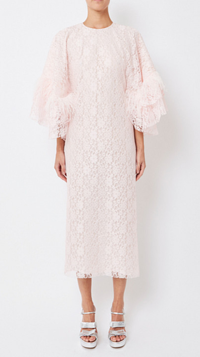 Huishan Zhang Ele Cape Dress