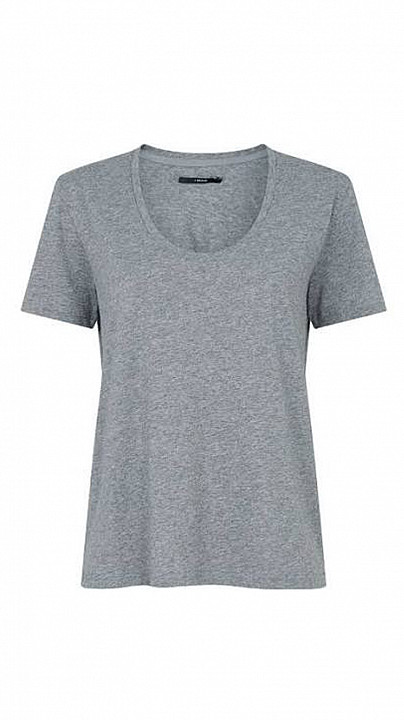 J Brand Johnny Tee Grey
