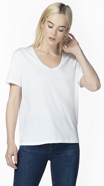 J Brand Johnny Tee White