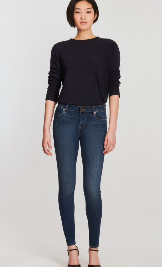 J Brand Maria High Rise Skinny Fleeting