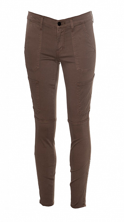 J Brand Skinny Utility Trouser Brown Sugar