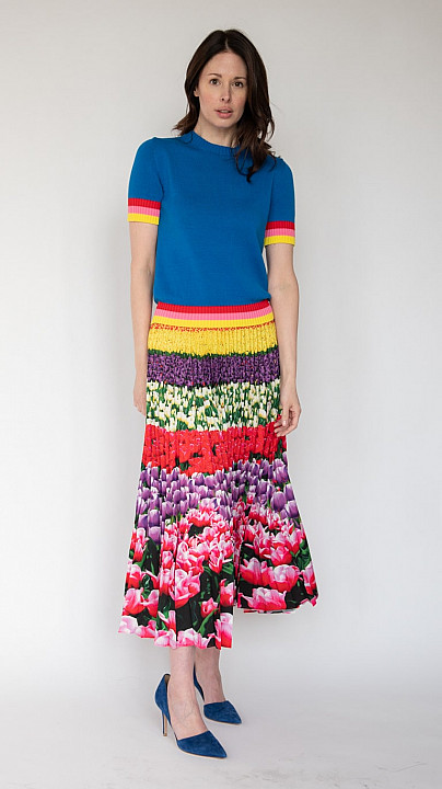 Mary Katrantzou Dua Jumper Electric Blue