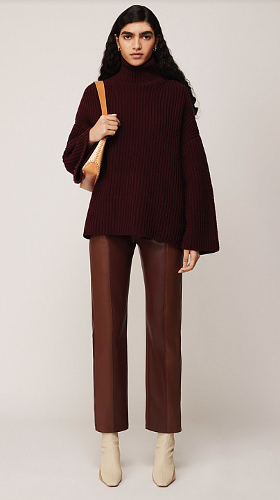 Nanushka Raw Berry Sweater