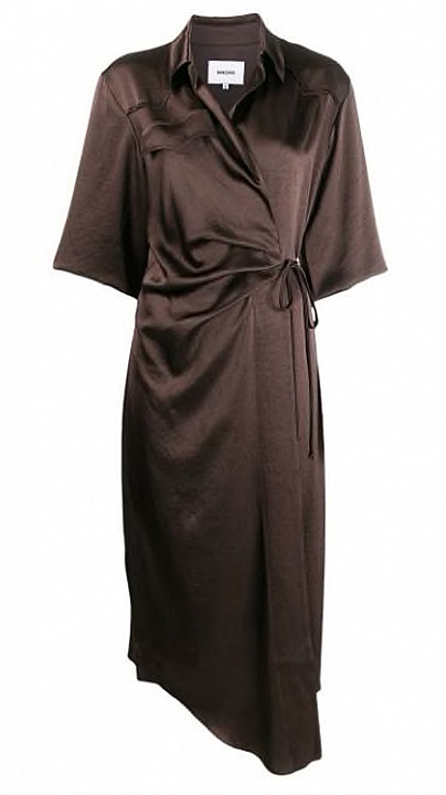 Nanushka Lais Dress Espresso