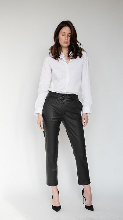 Osman Audrey Leather Trousers