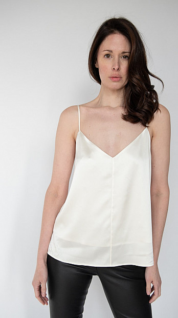 pH15 Silk Cami White