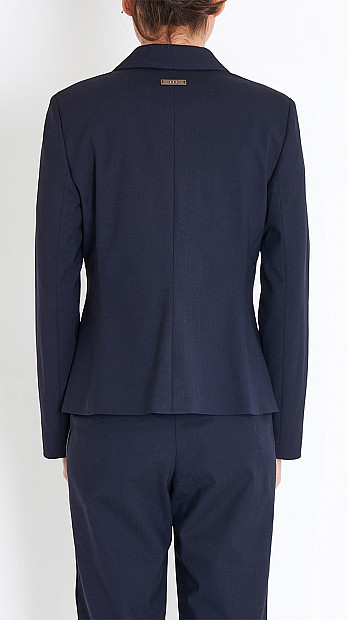 Peserico Suit Jacket in Navy