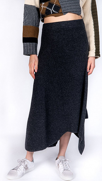 Pringle Long Skirt Travelling Ribs
