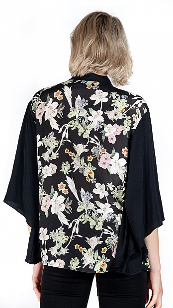 Pringle Patchwork Top Floral