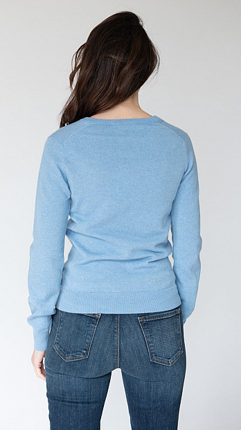 Pringle Scottish Jumper Light Blue