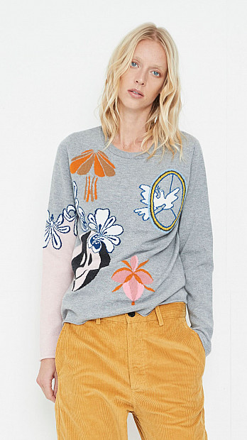 Queene and Belle Trippy Sweater