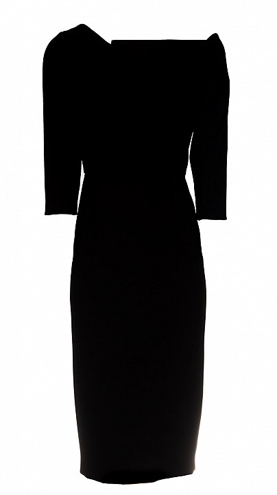 Roland Mouret Witham Dress Black