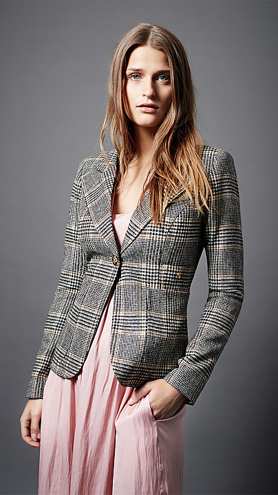 Smythe Patch Pocket Duchess Blazer Camel