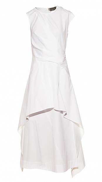 Sportmax Ottobre Dress White