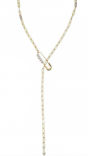Talis Chains Pin Necklace