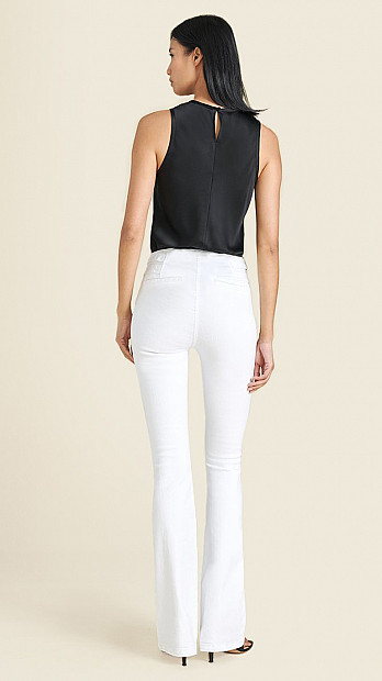 Veronica Beard Beverly Jeans White
