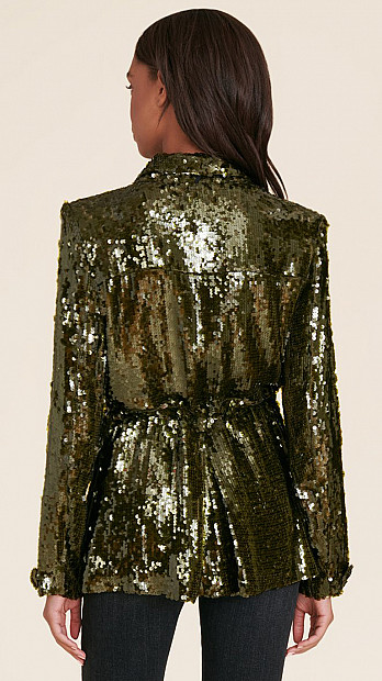 Veronica Beard Oriana Sequin Jacket