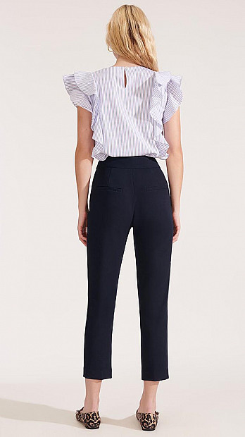 Veronica Beard Renzo Pant Navy